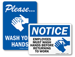 Best Sellers - Hand Washing Signs