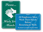 ShowCase - Hand Washing Signs