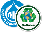 GoGreen™ Hard Hat Stickers