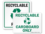 Recycle Paper Signs