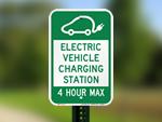EV Parking Signs