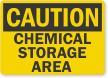 Free Chemical Storage Sign
