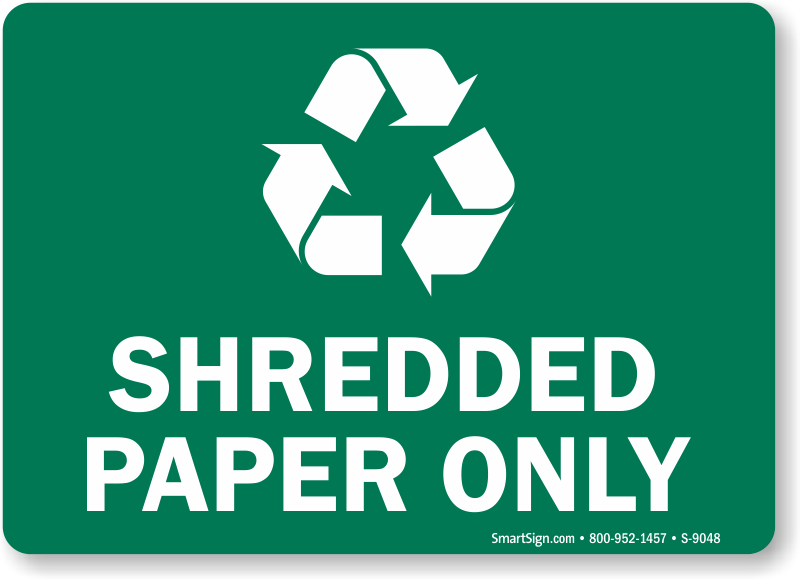 is shredded paper recyclable Great way to go ensuring the environment is cared for as you dispose there are companies doing paper shredding that also relay back how they are doing from an environmental stand point ie: environment contribution this is a great way to protect.