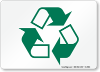 Recyclable Symbol Sign