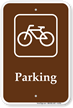 Parking Bike Bicycle Sign