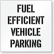 Fuel Efficient Vehicle Parking, Parking Lot Stencil