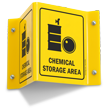 Chemical Storage Area (with symbol)
