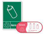 Aerosol Recycling Labels