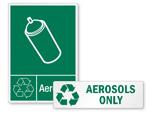 Aerosol Recycling Labels