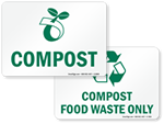 Compost Signs & Labels