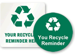 Custom Recycle Signs