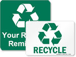 Free Recycling Labels