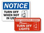 Light Switch Decals