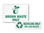 Recyclable Waste Labels