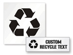 Recycling Stencils