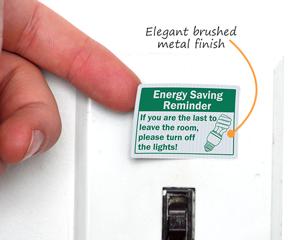 Door Light Switch Decals