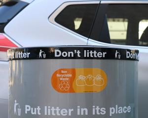 Non Recyclable Waste Vinyl Sticker