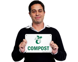 Recycling Composting Sign