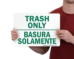Trash Signs