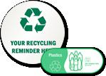 Custom Recycling Stickers