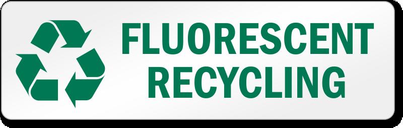 Light Bulb Recycling Labels