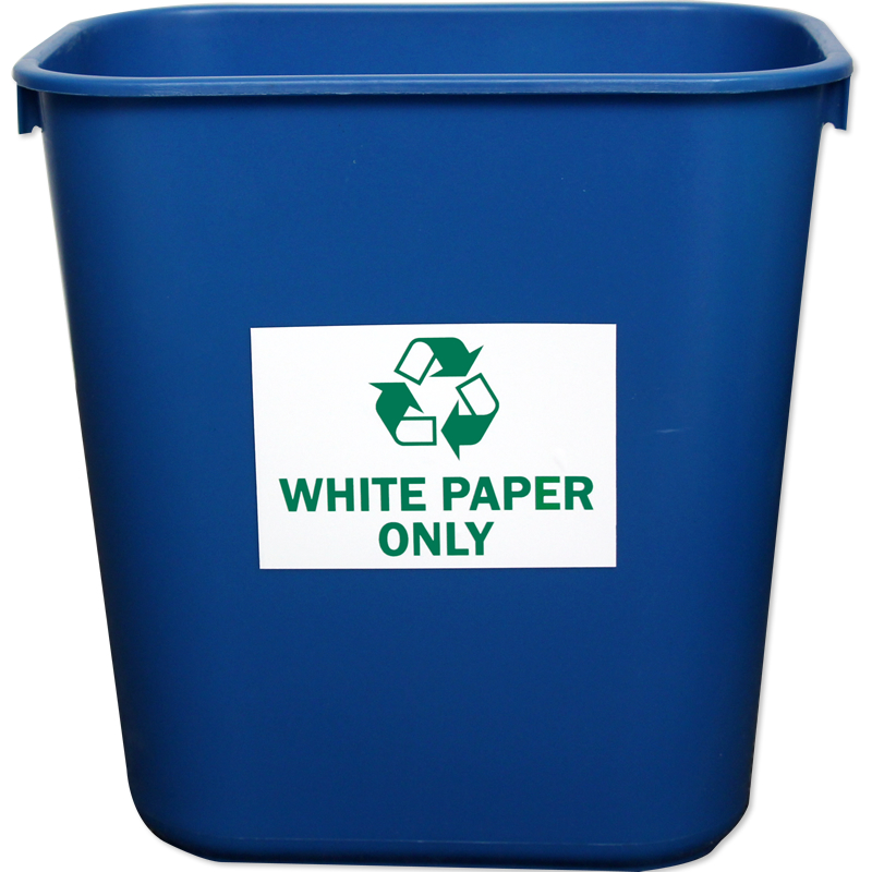 Recycle Labels White Paper Only Sku L 0563 Xv