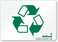 GoGreen (With Symbol) Sign