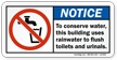 To Conserve Water Building Uses Rainwater Label