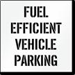 Fuel Efficient Vehicle Parking, Parking Lot Stencil