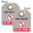 Greywater Do Not Drink Mini Tag