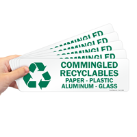 Commingled Recyclables Label