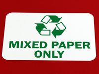 Mixed Paper Only Labels