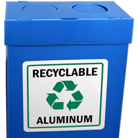 Recyclable Aluminum Labels (with graphic)