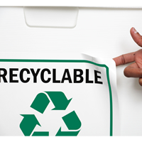 Plastic Recycle Label