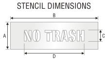 Stencil ST 0459